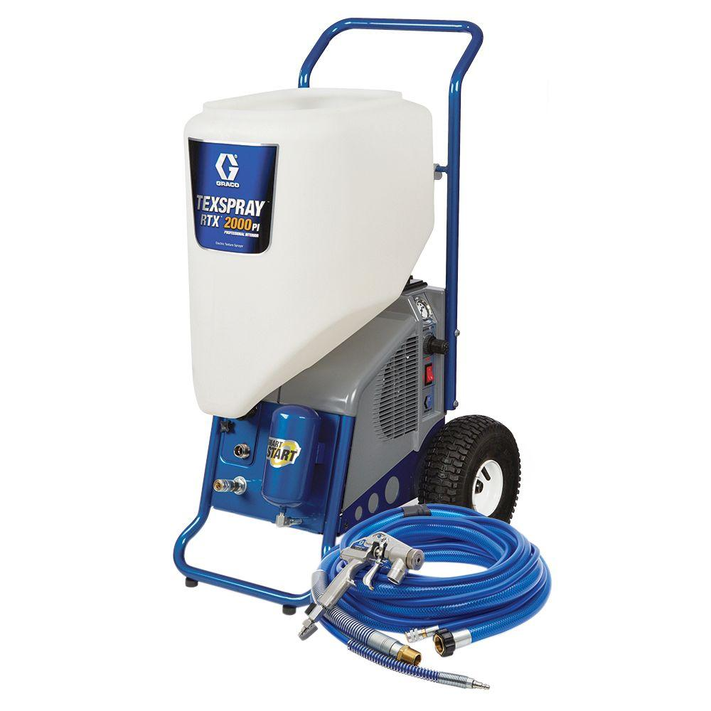 Graco TexSpray RTX 2000PI Texture Sprayer-17H573 - The Home Depot