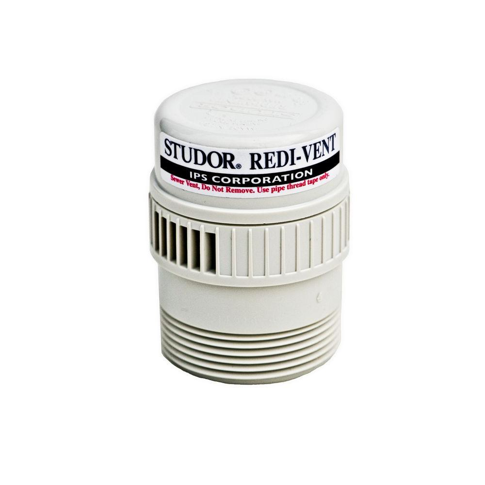 STUDOR Redi-Vent 1-1/2 in. - 2 in. PVC Air Admittance Valve Adapter (Case of 24)