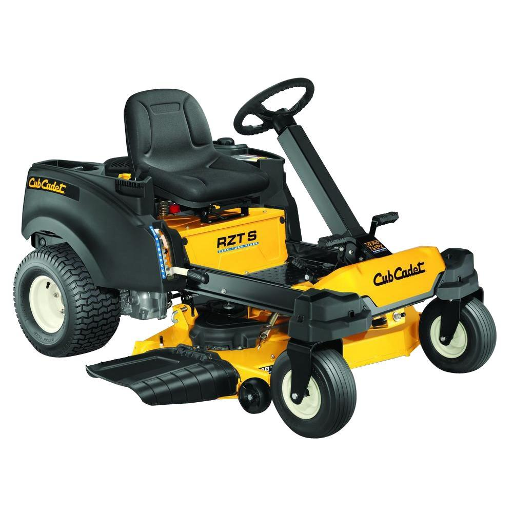 Cub Cadet RZT-S 46 in. Fabricated Deck 24 HP V-Twin Dual-Hydrostatic Zero-Turn Riding Mower with Cub Connect Bluetooth