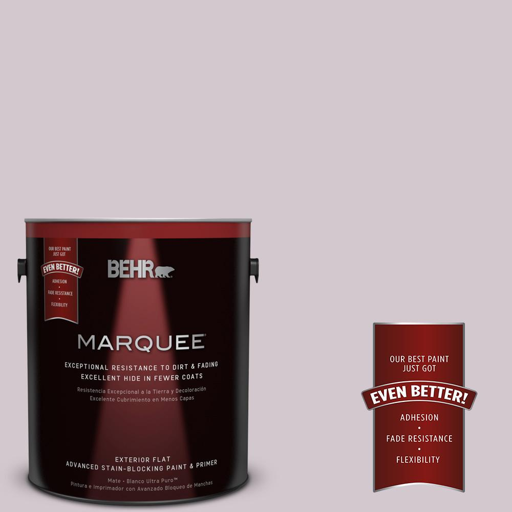 BEHR MARQUEE 1-gal. #N110-1 Dusty Lilac Flat Exterior Paint