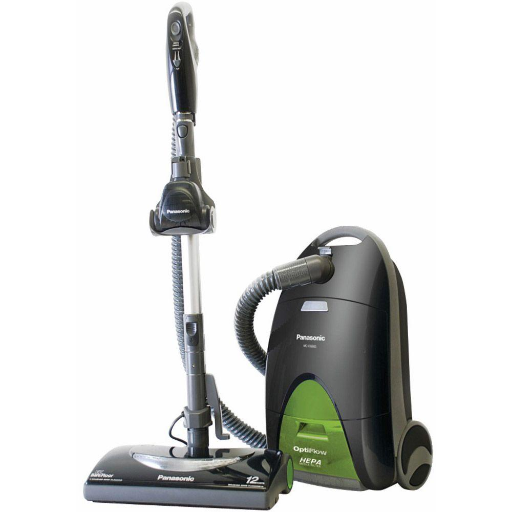 Panasonic Canister Vacuum with OptiFlow Technology