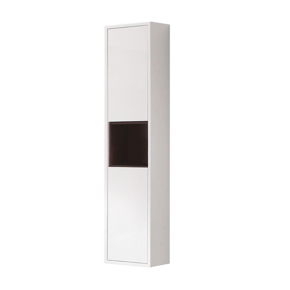 Avanity Sonoma 12 in. W Wall Cabinet in White-SONOMA-WC12-WT - The