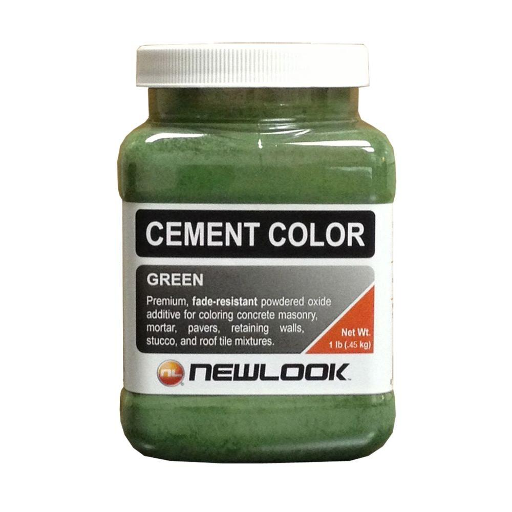 NewLook 1 lb. Green Fade Resistant Cement Color