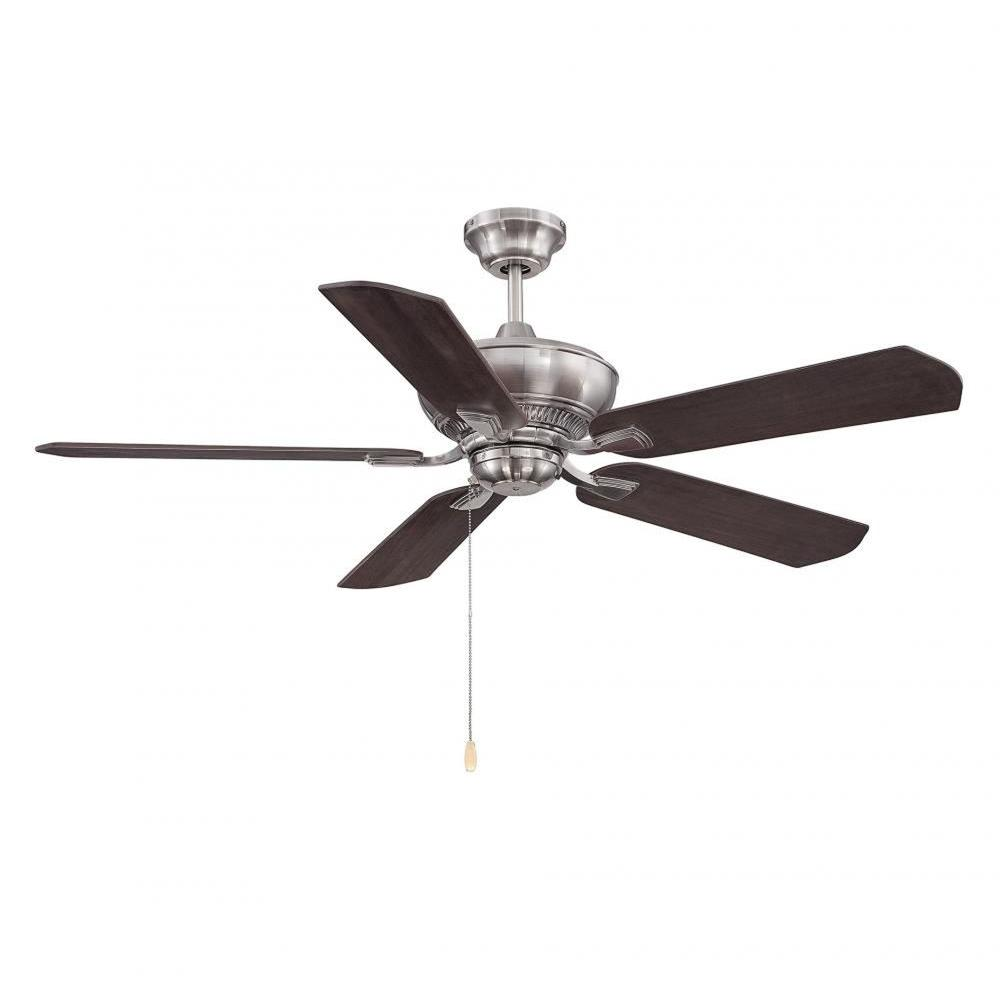 Illumine Anuran 52 in. Brushed Pewter Indoor Ceiling Fan-CLI-SH0250293 - The