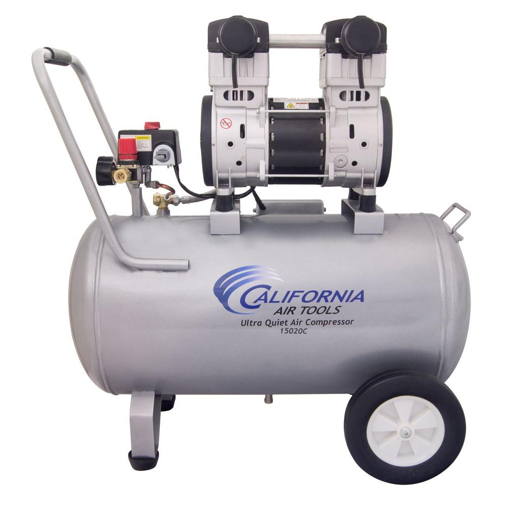 15 Gal. 2.0 HP 220-Volt 60 Hz Ultra Quiet and Oil-Free