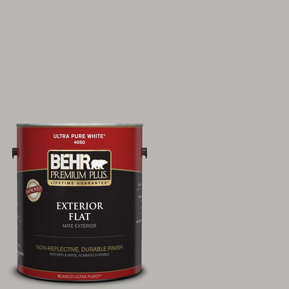 BEHR Premium Plus Home Decorators Collection 1-gal. #HDC-MD-26 Sonic Silver Flat