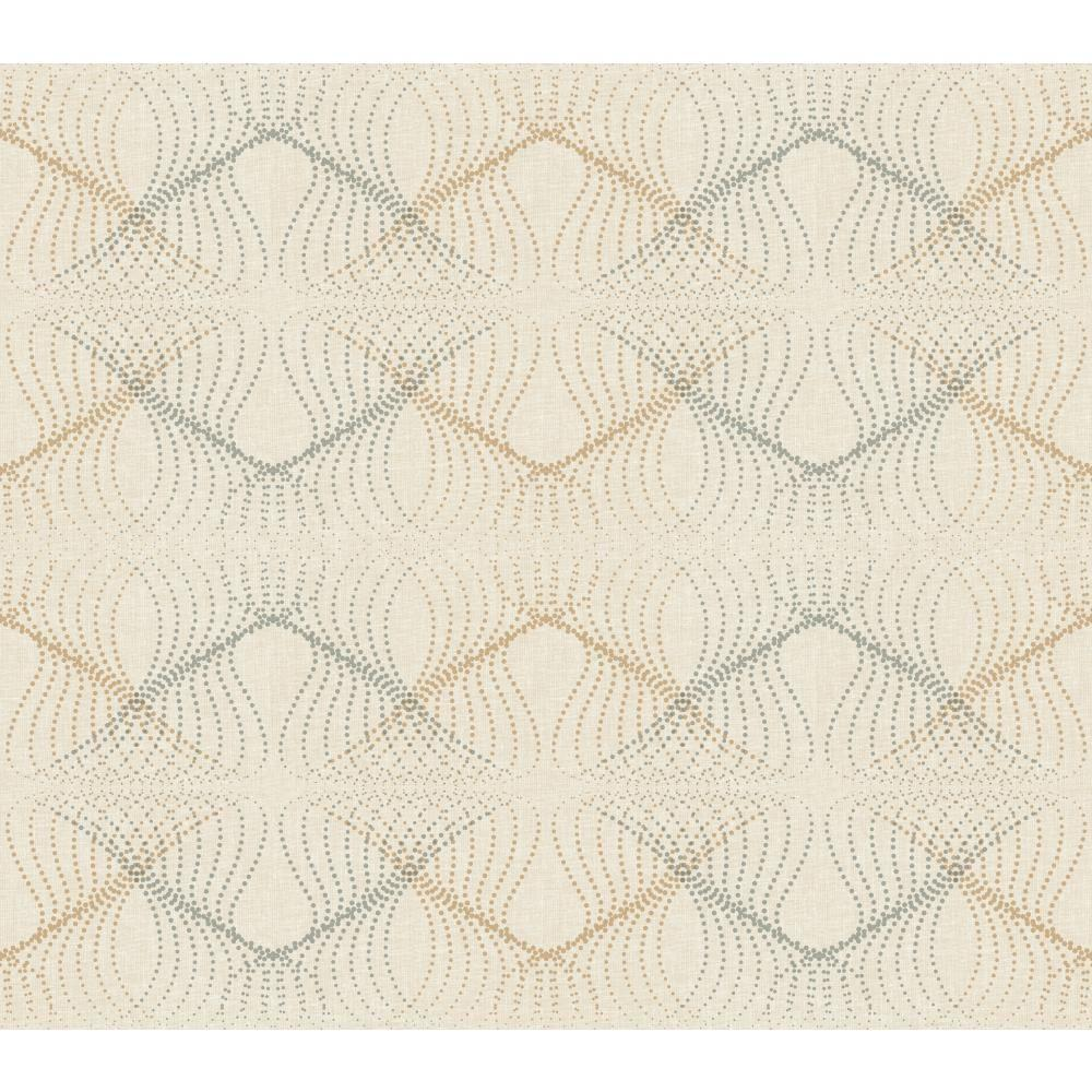 York Wallcoverings 60.75 sq. ft. WallpapHer Optic Wallpaper-WH2680 - The Home