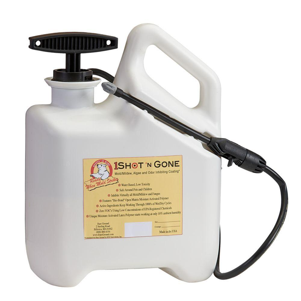 96 oz. 1 Shot N Gone Mold-Mildew Inhibiting Coating Pre-Loaded into