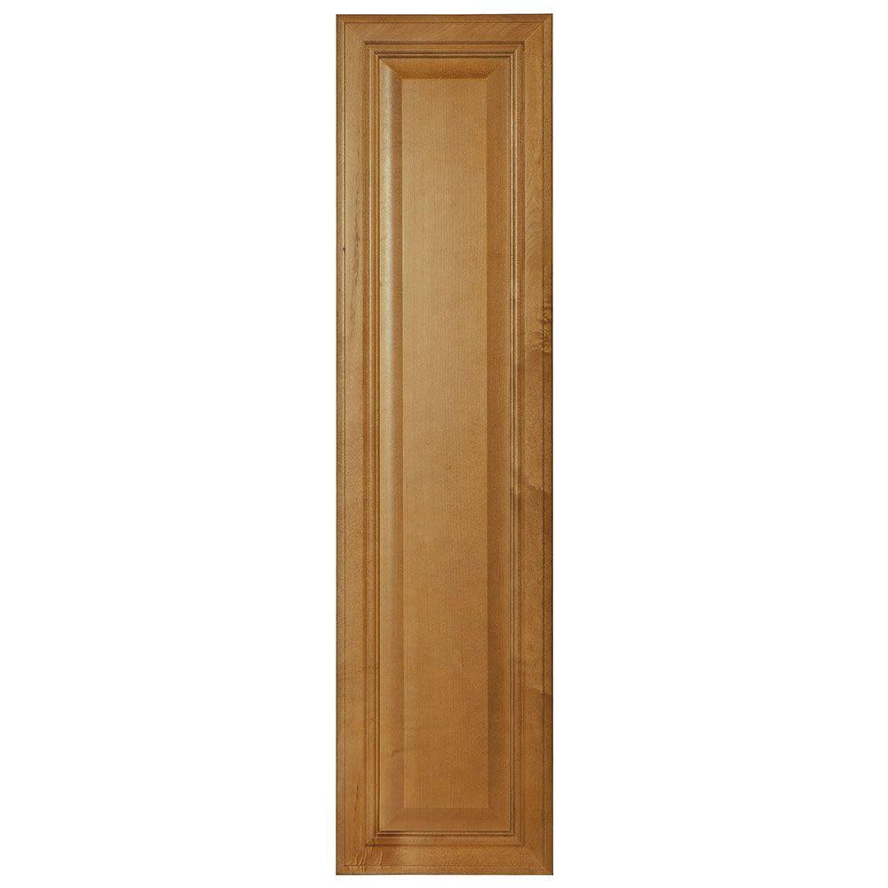 10x39.375x0.625 in. Cambria Decorative End Panel in Harvest