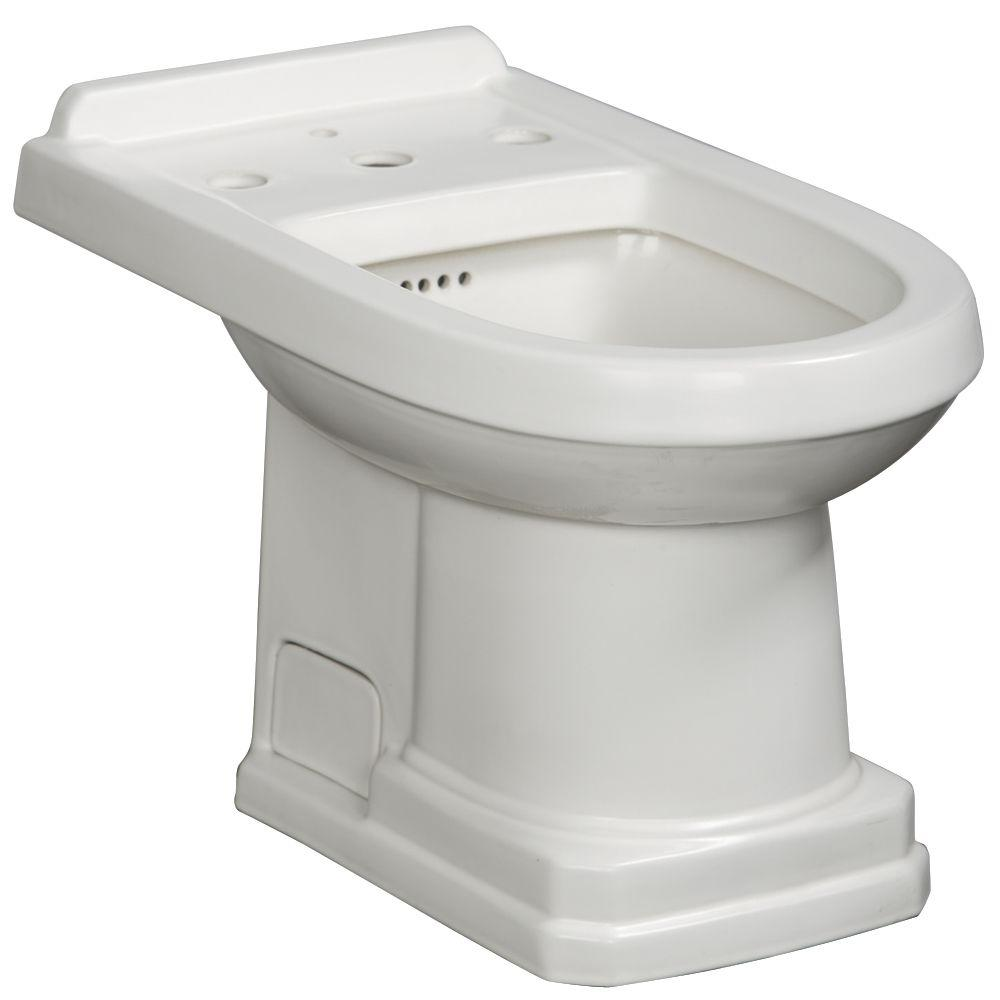 Danze Cirtangular Bidet in White-DISCONTINUED