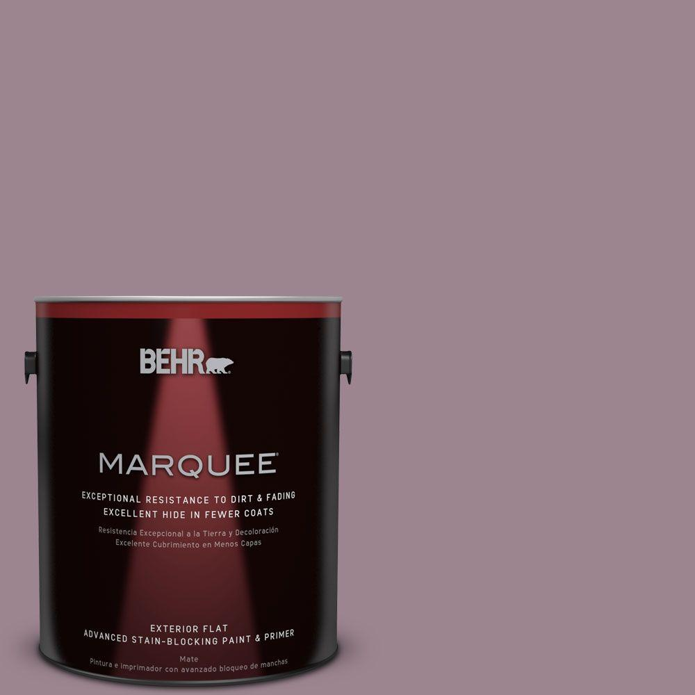 BEHR MARQUEE 1-gal. #PPU17-14 Dream Sunset Flat Exterior Paint-445401 - The