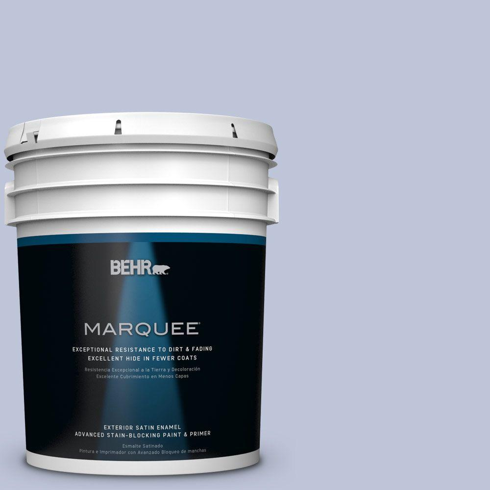 BEHR MARQUEE 5 gal. #HDC-CT-15A Himalayan Poppy Satin Enamel Exterior