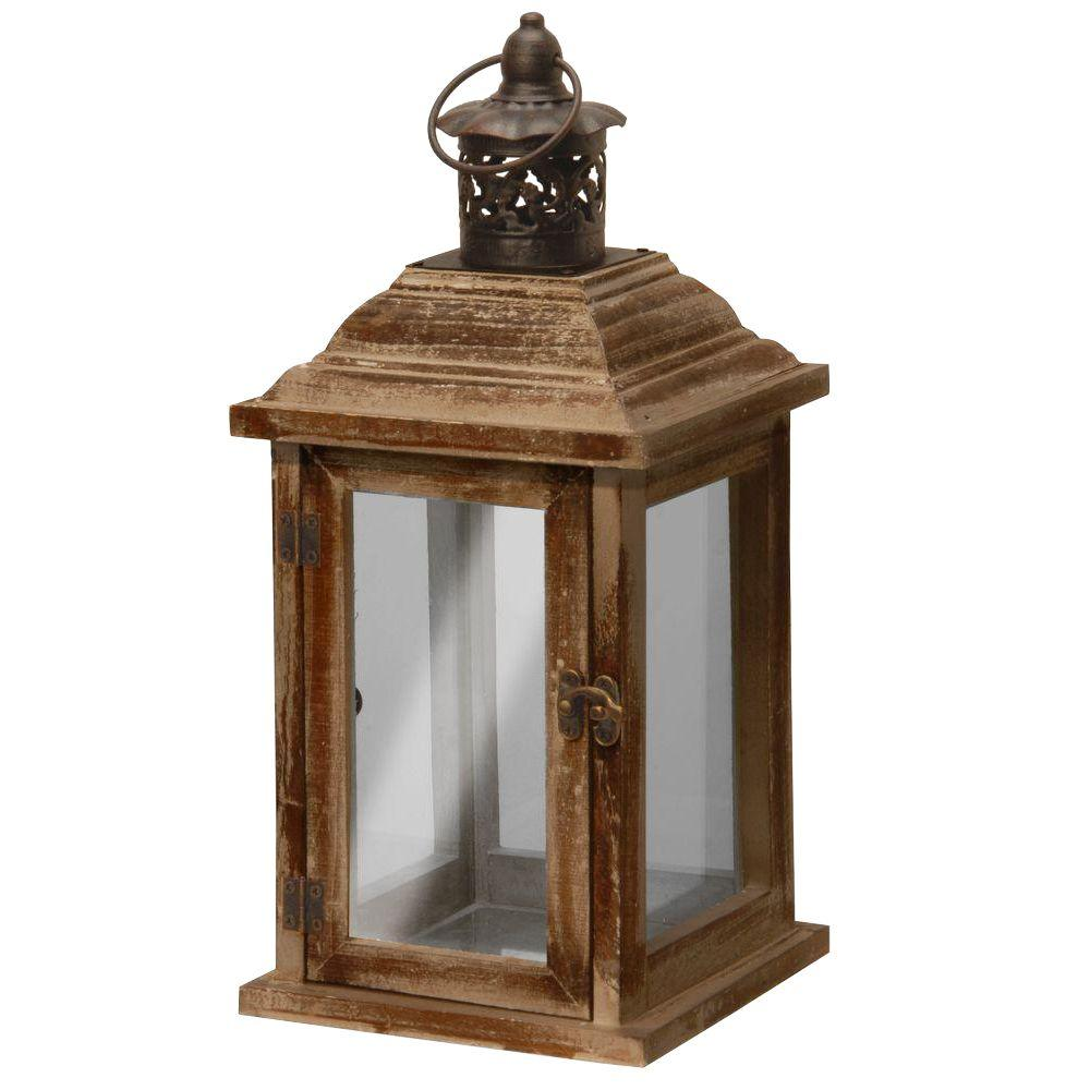 National Tree Company 12 in. Garden Accents Lantern-GAL30-6B - The Home