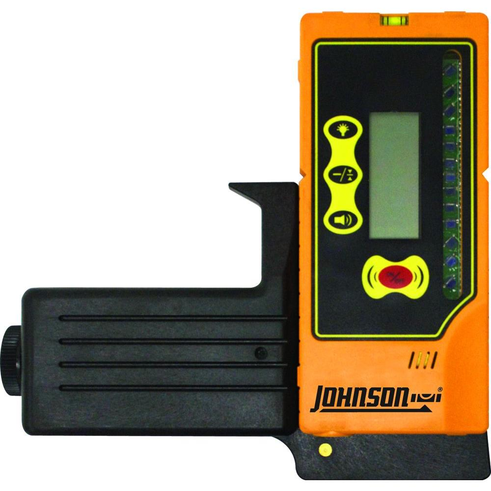 Johnson Green Beam Rotary Laser Detector with Clamp