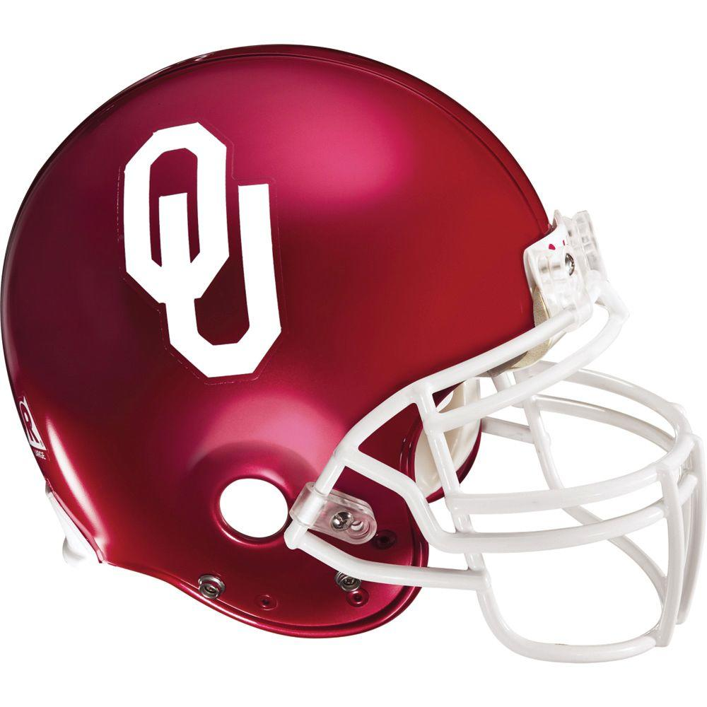 Fathead 53 in. x 50 in. Oklahoma Helmet Wall Decals