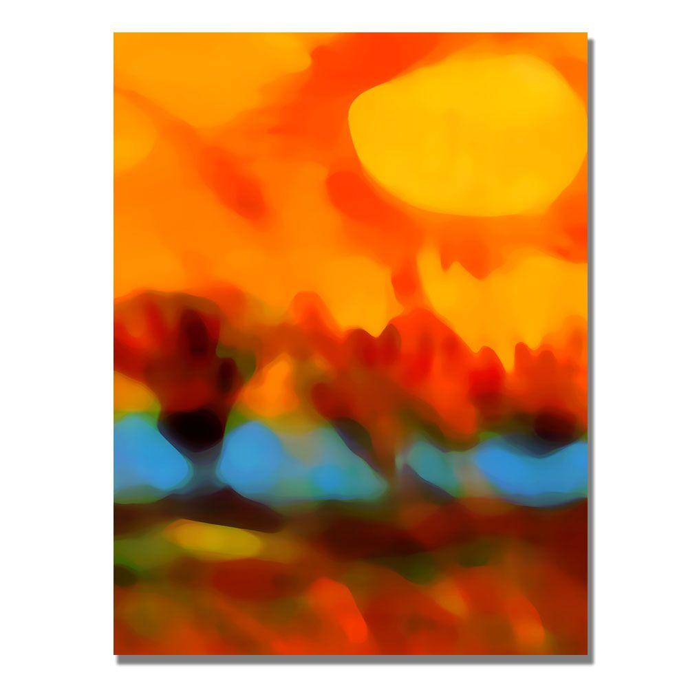 Trademark Fine Art 24 in. x 18 in. Sunset in the
