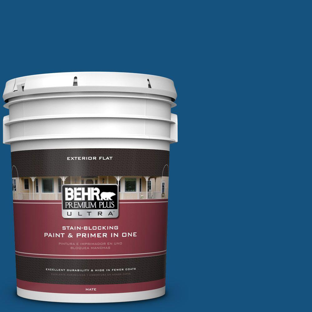 5-gal. #S-H-570 Blueberry Twist Flat Exterior Paint
