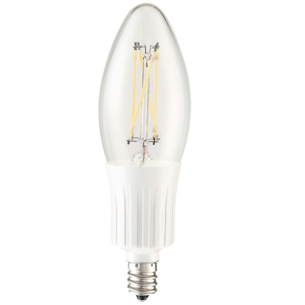 35W Equivalent Cool White E12 Dimmable LED Light Bulb