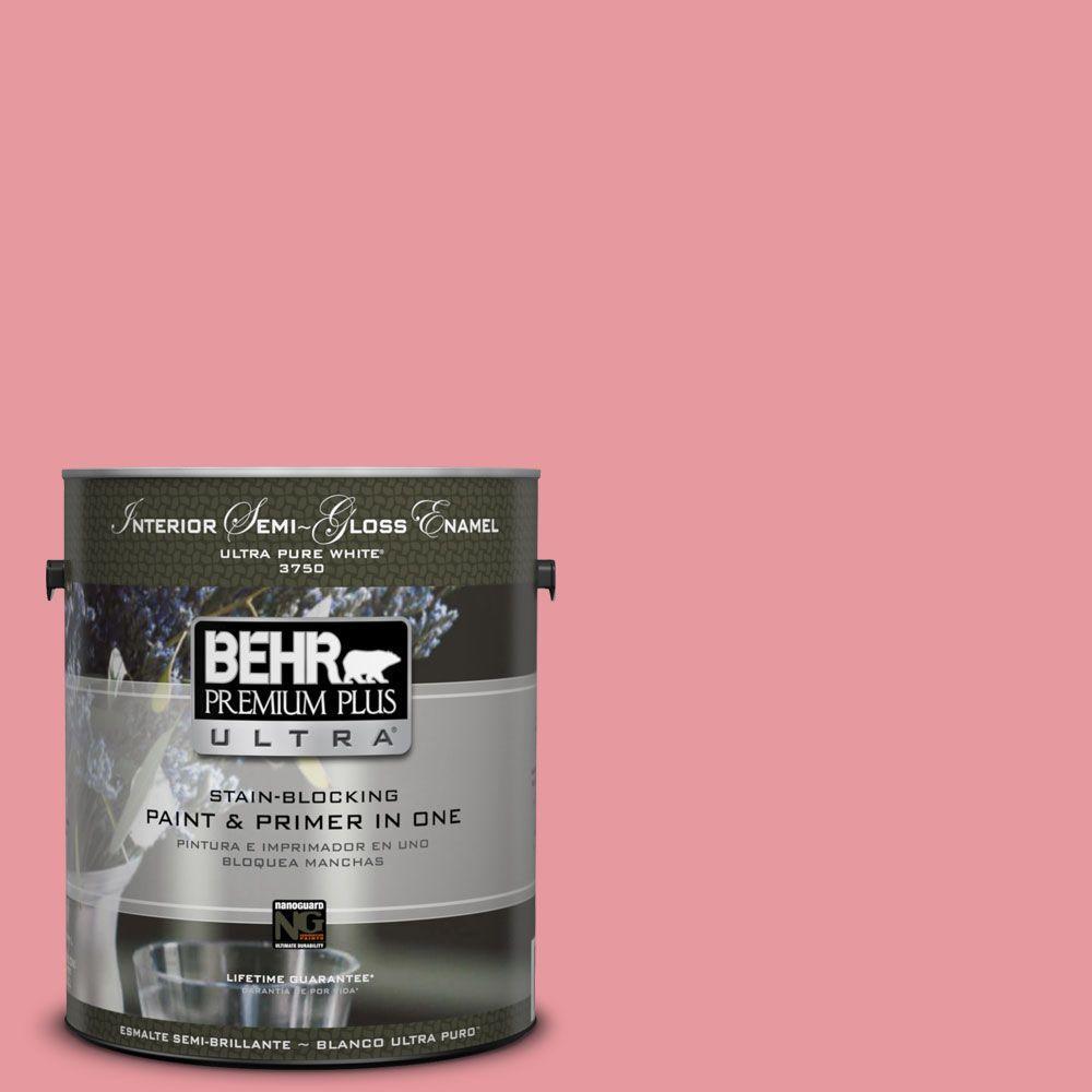 1-gal. #P160-3 All Dressed Up Semi-Gloss Enamel Interior Paint