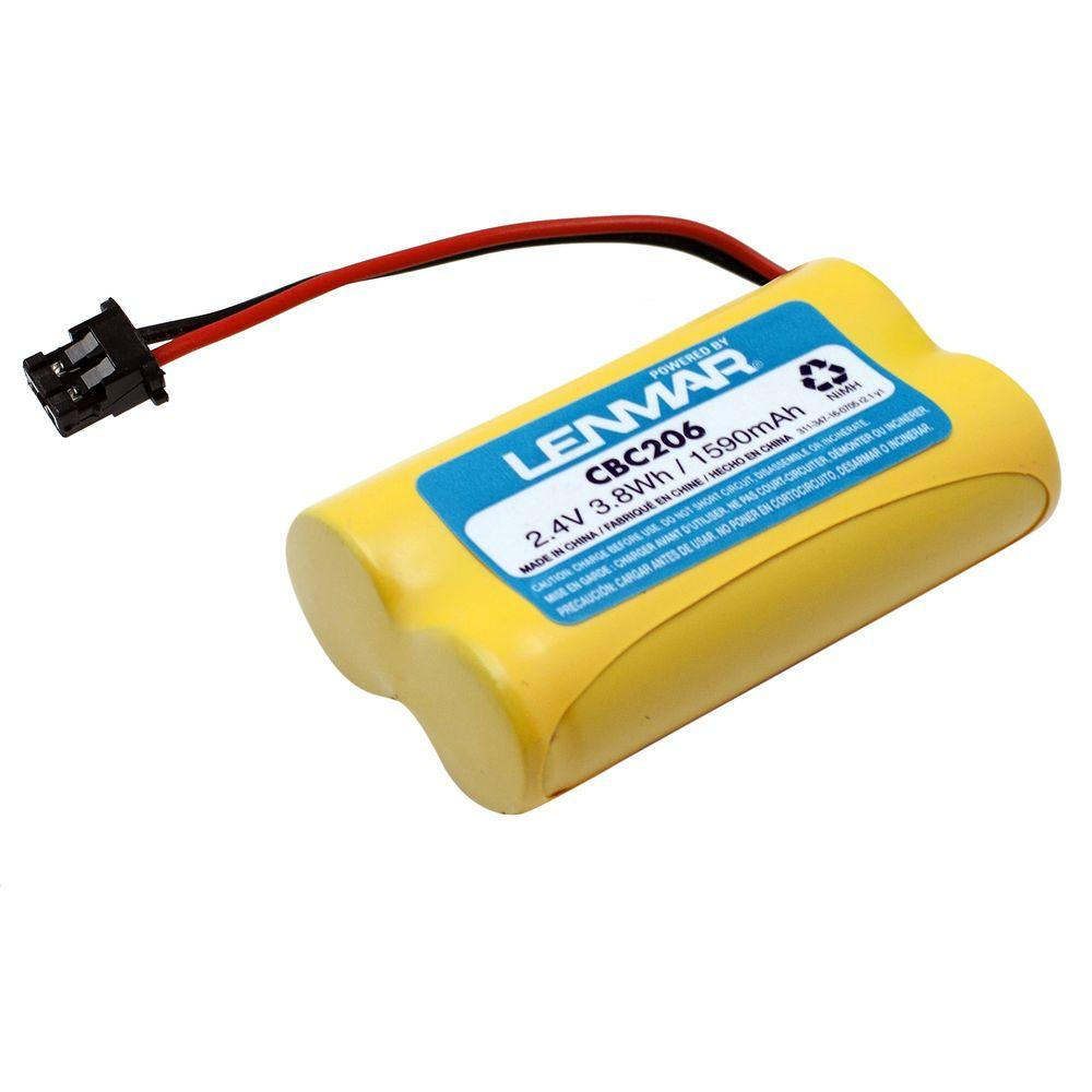 Nickel-Metal Hydride 1500mAh/2.4-Volt Cordless Phone Replacement Battery