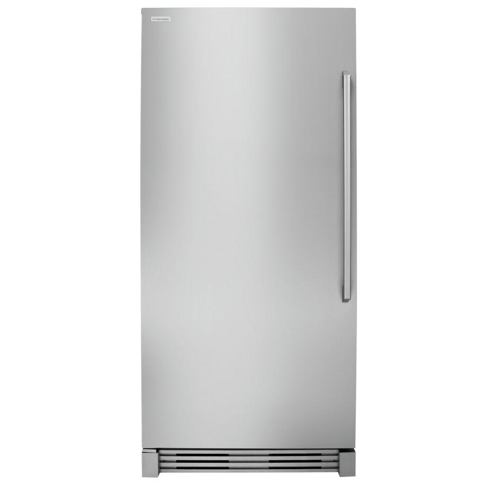 Commercial refrigerator for home use - Iq Touch 18 6 Cu Ft Upright Freezer In Stainless Steel