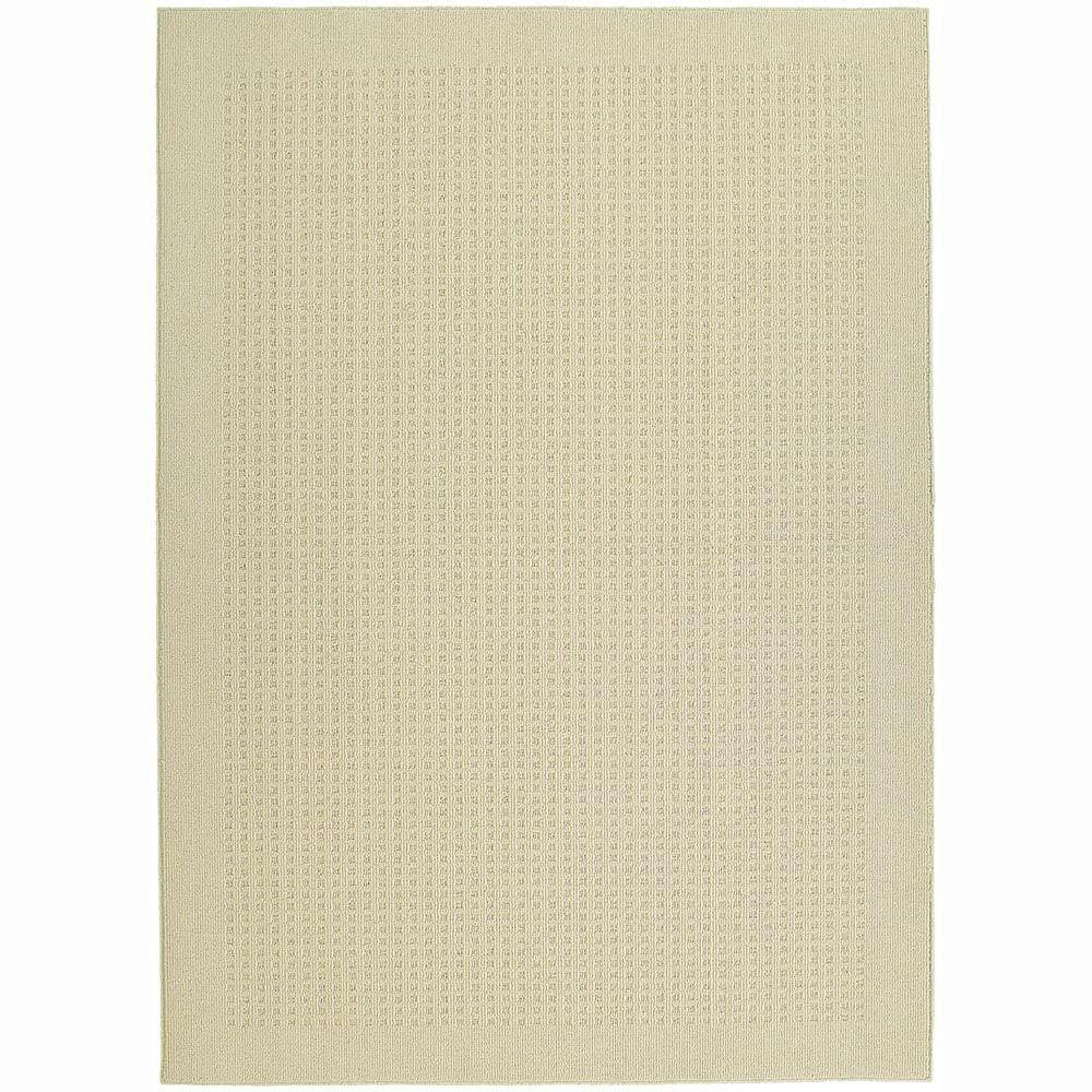 Garland Rug Herald Square Ivory 5 ft. x 7 ft. Area Rug