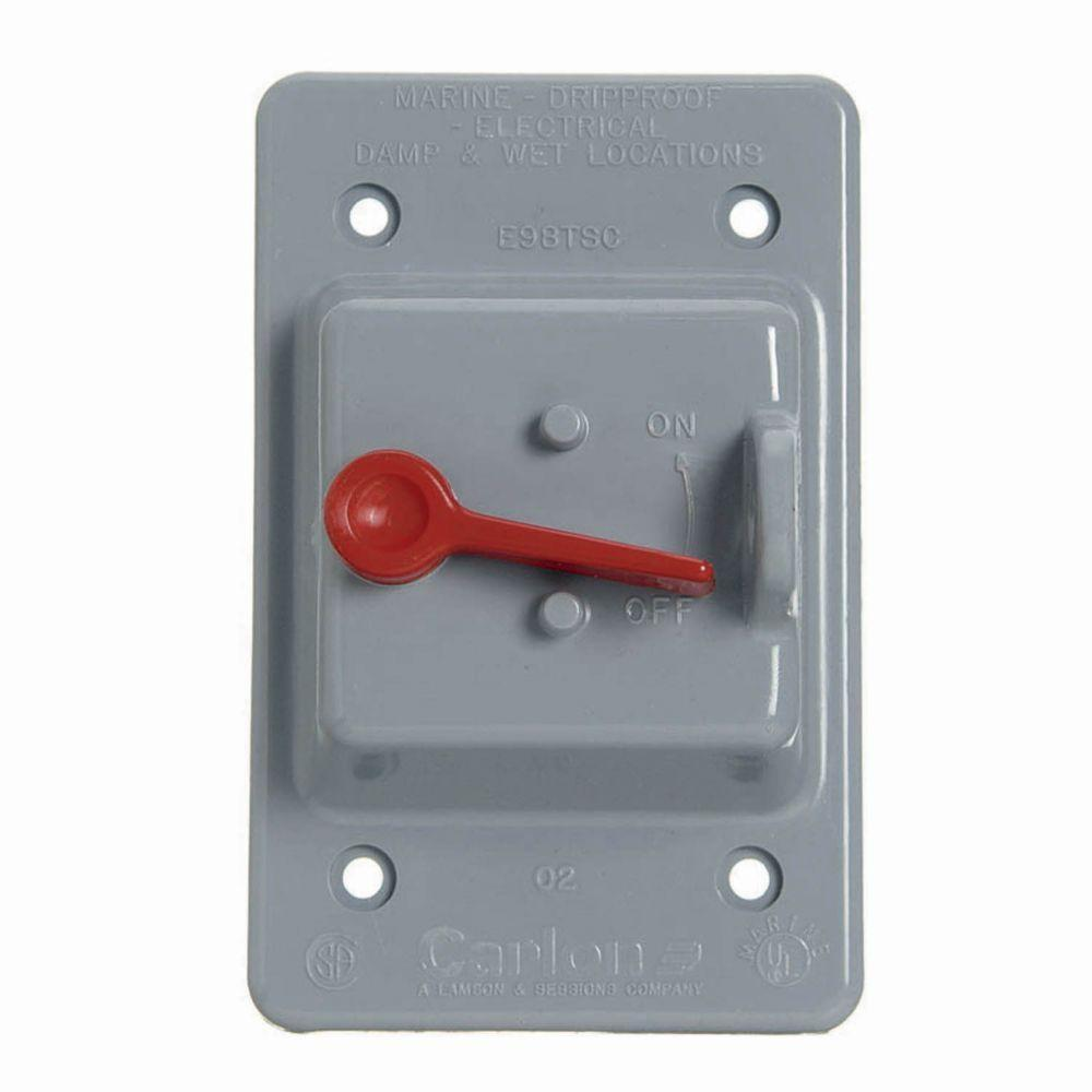 1-Gang Weatherproof Toggle Switch Cover (Case of 5)