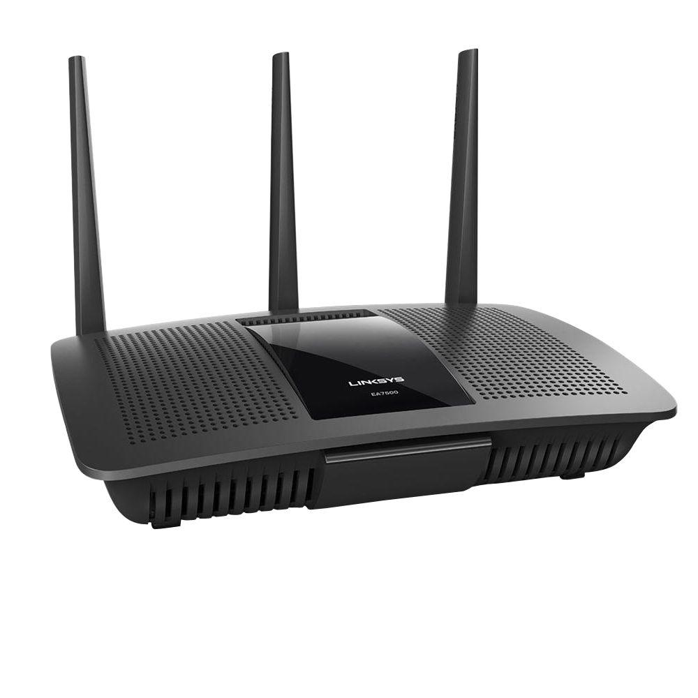 Linksys AC19020 Max-Stream MU-MIMO Gigabit Router, Black-EA7500 - The Home Depot