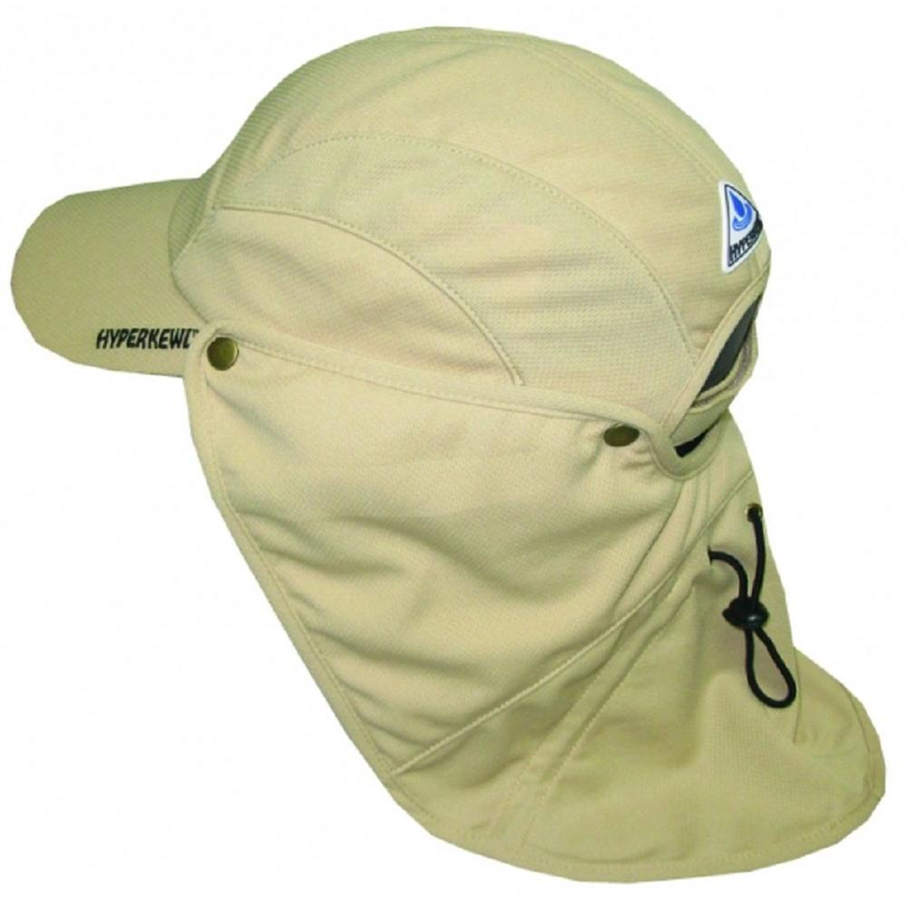 Khaki Ultra Sport Cooling Hat with Detachable Cooling Neck Shade