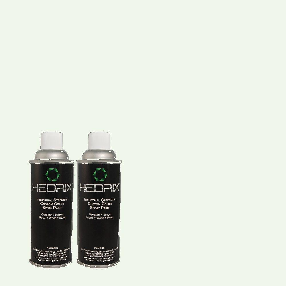 Hedrix 11 oz. Match of 5C7-2 Evening Breeze Low Lustre Custom Spray Paint (2-Pack)