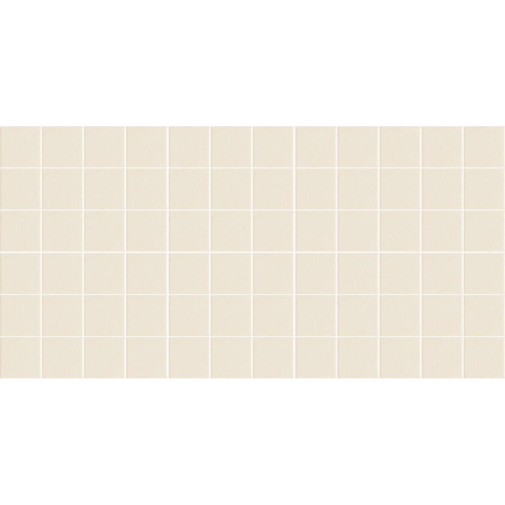 Daltile Keystones Unglazed Biscuit 12 in. x 24 in. x 6 mm Porcelain Mosaic Tile (24 sq. ft. / case)