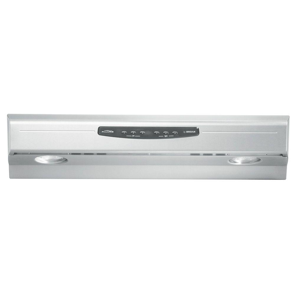 Allure 2 Series 30 in. Convertible Range Hood in Stainless Steel