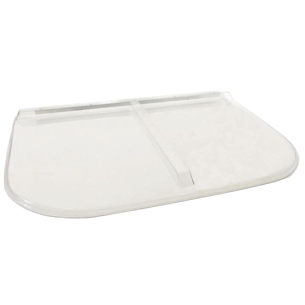 Shape Products 58 in. x 38 in. Polycarbonate U-Shape Egress Cover