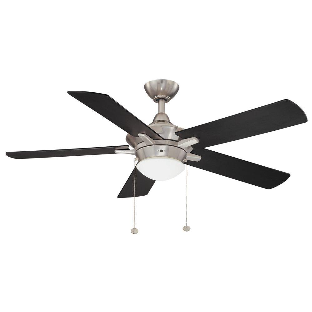 Hampton Bay Edgemont 52 in. Colonial Pewter Ceiling Fan-YG177H-CLP - The