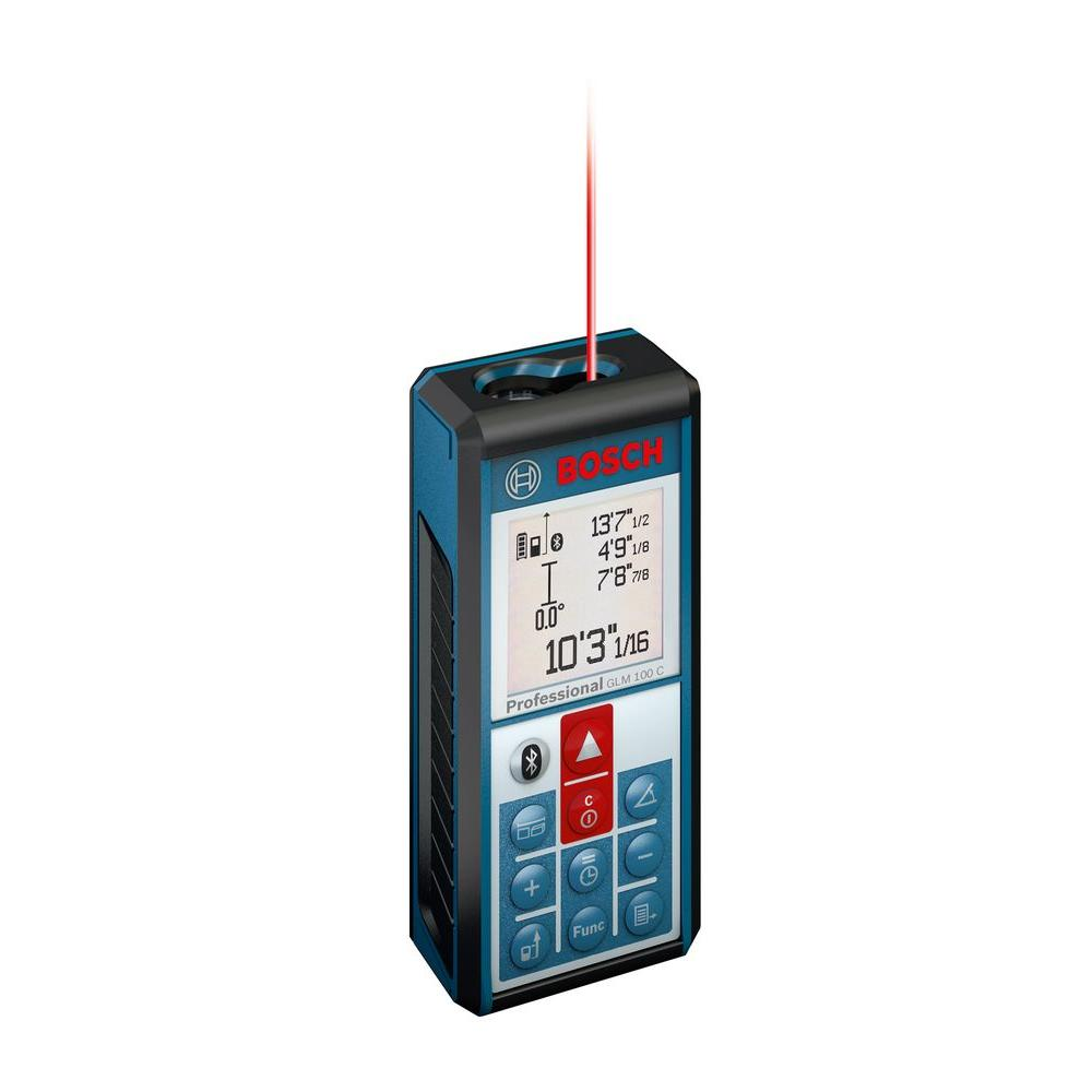 330 ft. Lithium-Ion Bluetooth Enabled Laser Distance and Angle Measure