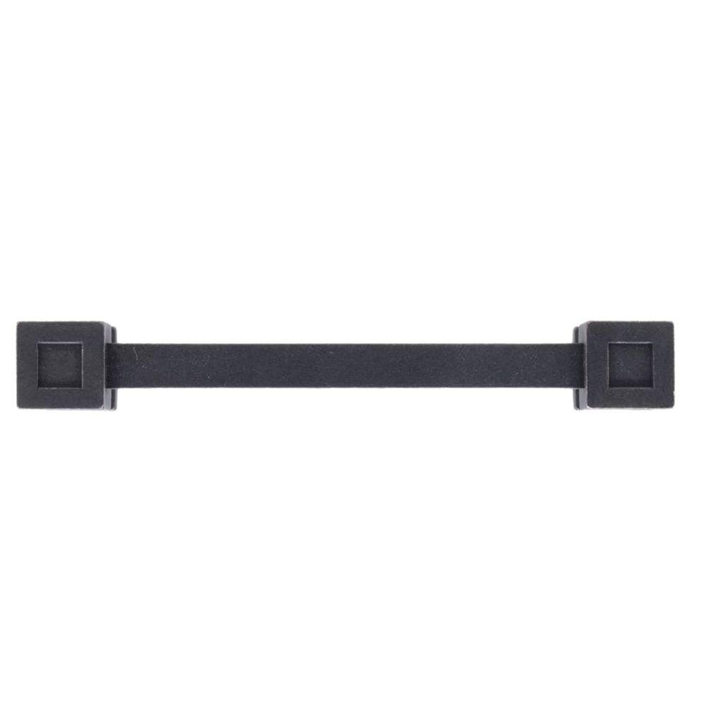 Continental Home Hardware 4 in. Oil-Rubbed Bronze Cube End Pull-RL021736 -