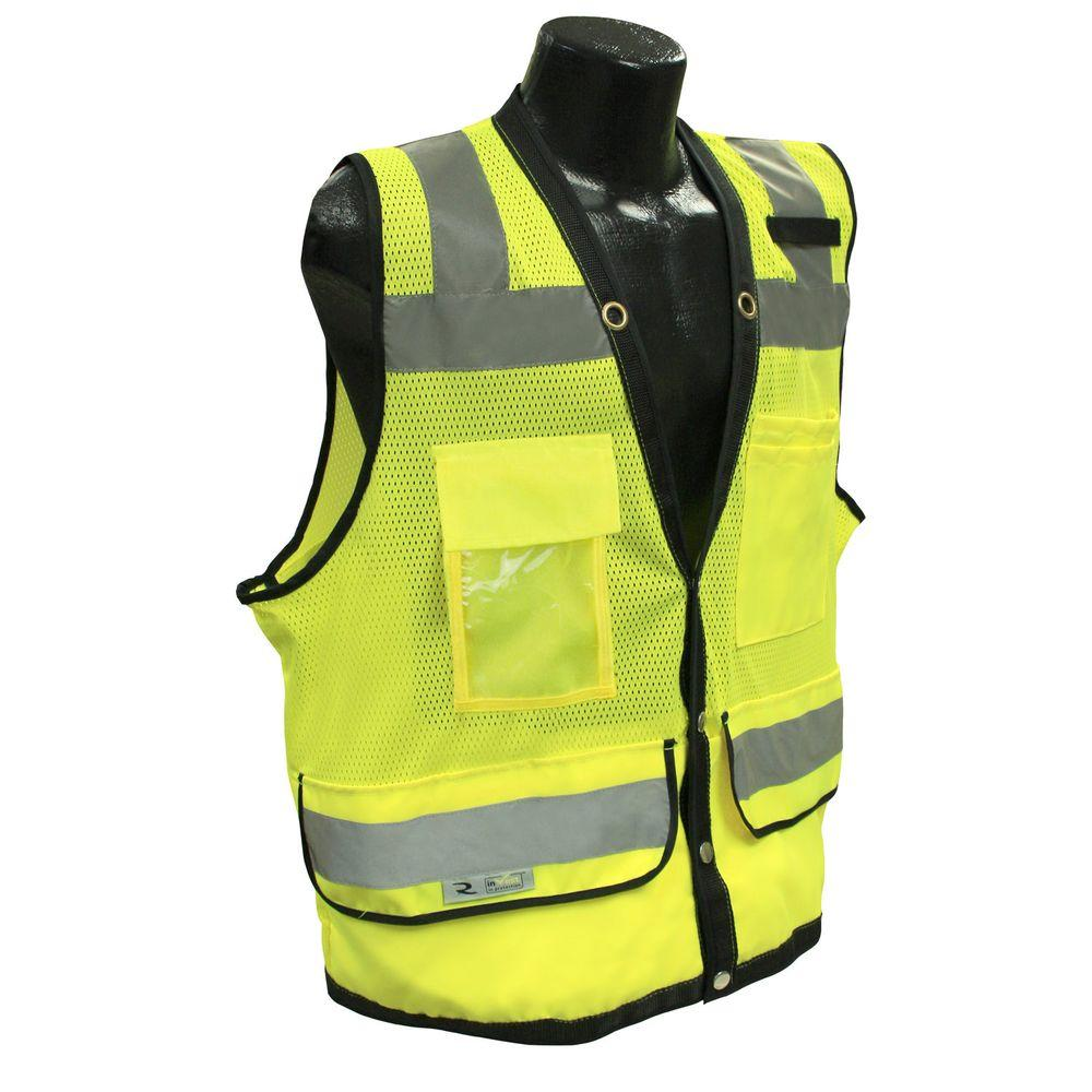 Radians CL 2 Heavy Duty 4X Surveyor Green Dual Safety Vest-SV59-2ZGD-4X