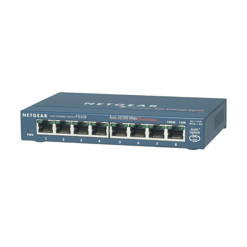 8-Port 10/100MBPS Ethernet Switch