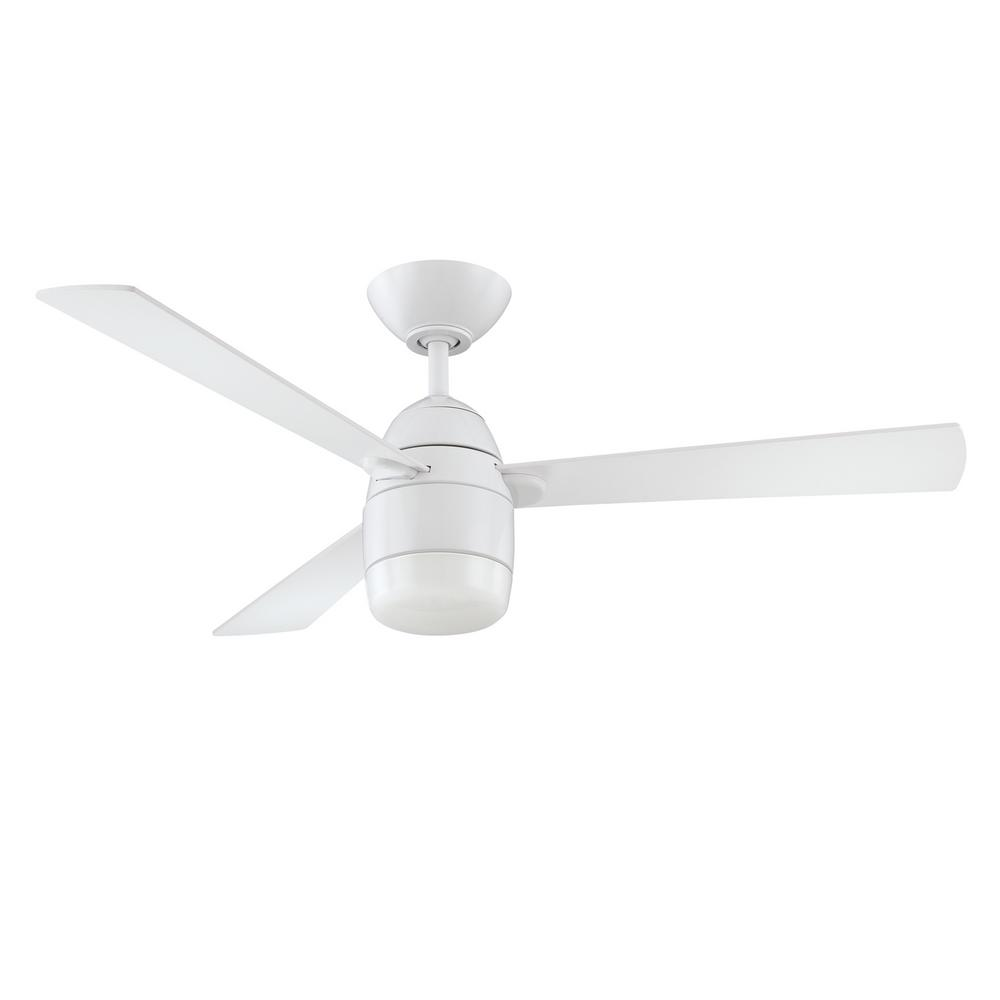 Designers Choice Collection Antron 42 in. White Ceiling Fan