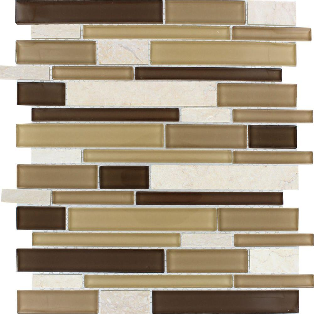 Sand Canyon Interlocking 12 in. x 12 in. x 6 mm