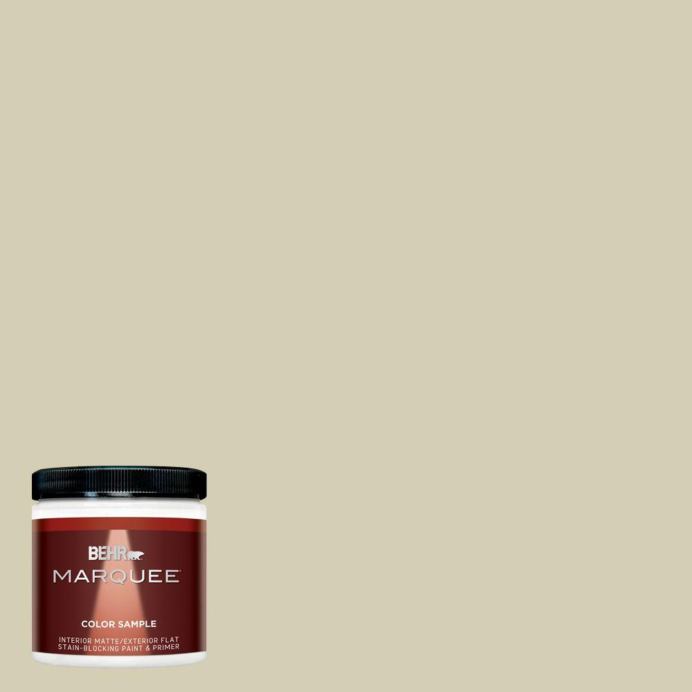 BEHR MARQUEE 8 oz. #MQ6-55 Pale Ivy Interior/Exterior Paint Sample
