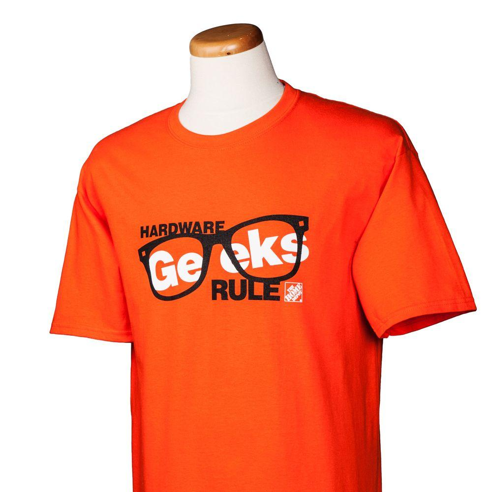 null Hardware Geeks Rule T-Shirt