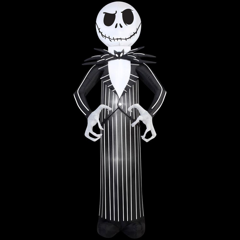 7 ft. Inflatable Jack From Nightmare Before Christmas