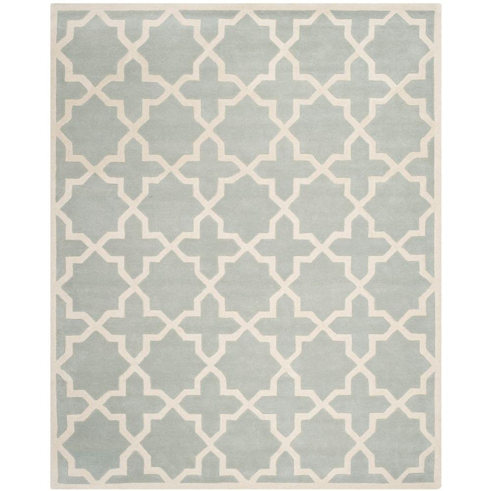 Chatham Grey/Ivory 8 ft. 9 in. x 12 ft. Area Rug