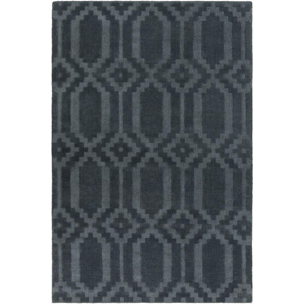Metro Scout Dusty Blue 6 ft. x 9 ft. Indoor Area Rug