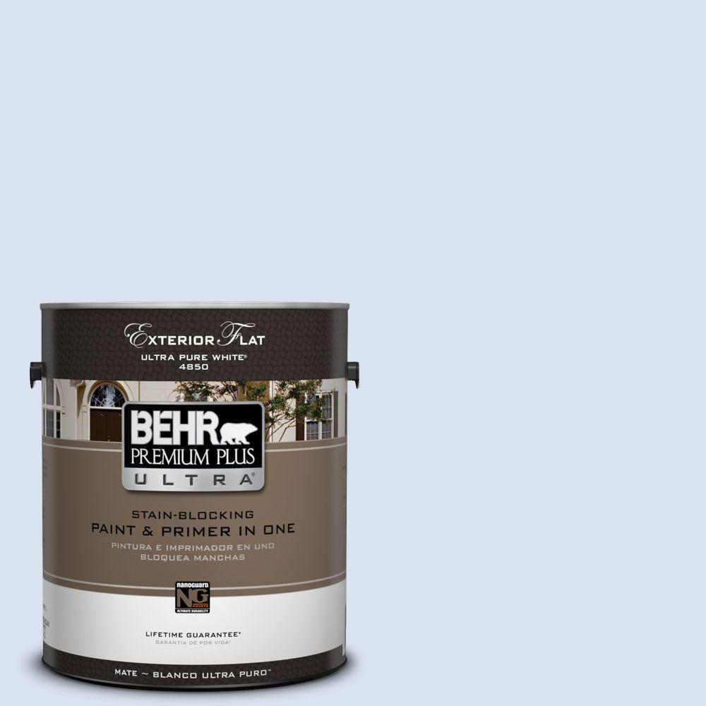 1-gal. #590A-1 Icelandic Flat Exterior Paint