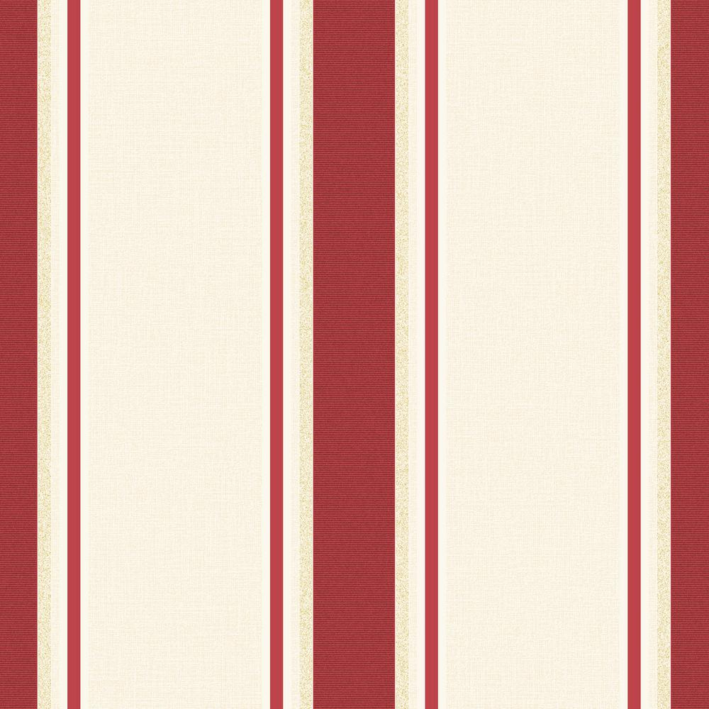 Graham & Brown 56 sq. ft. Red and Gold Orla Wallpaper-20-749