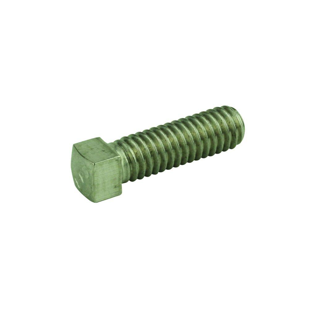 5/16 in.-18 x 1/2 in. Stainless-Steel Socket Set Screw (2-Pieces)