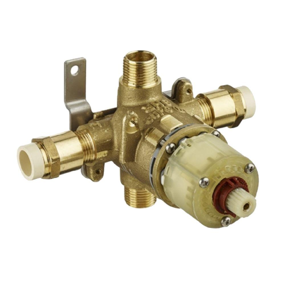 1/2 in. Pressure Balance Rough Valve with CPVC Inlets and Universal