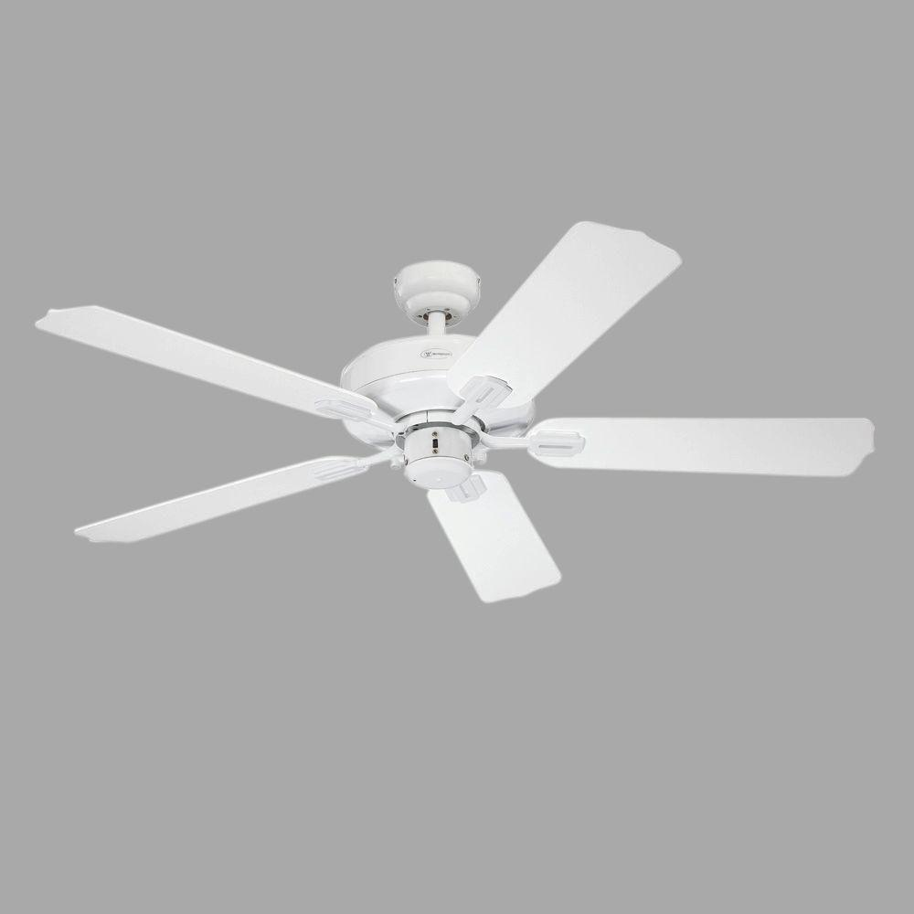 Westinghouse Willow Breeze 52 in. White Indoor/Outdoor Ceiling Fan-7228000 - The